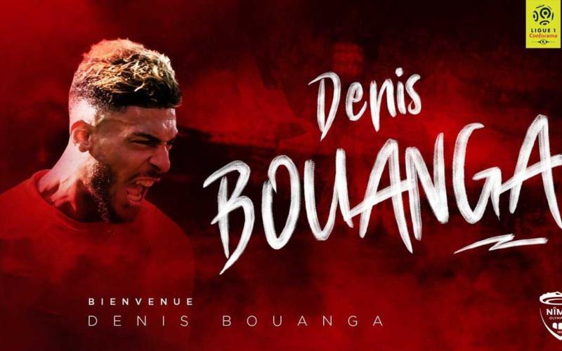 Bouanga Denis annuncio Nimes Twitter