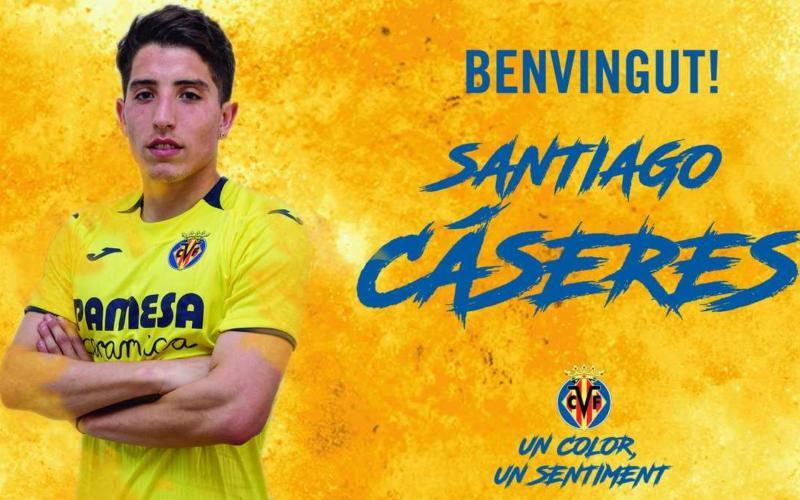 Caseres annuncio Villarreal Twitter