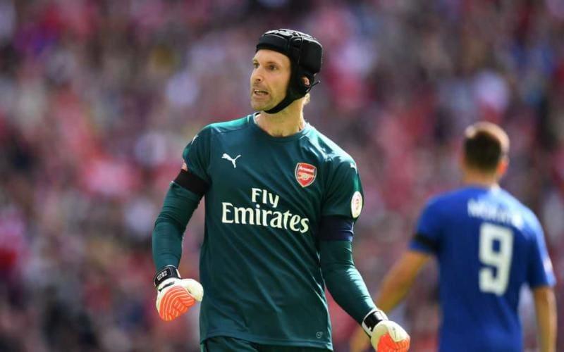 Cech Arsenal 2018 Foto 101greatgoals