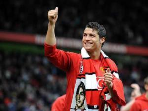 Cristiano Ronaldo Manchester United Foto Mirror
