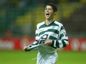 Cristiano Ronaldo Sporting Lisbona A Bola