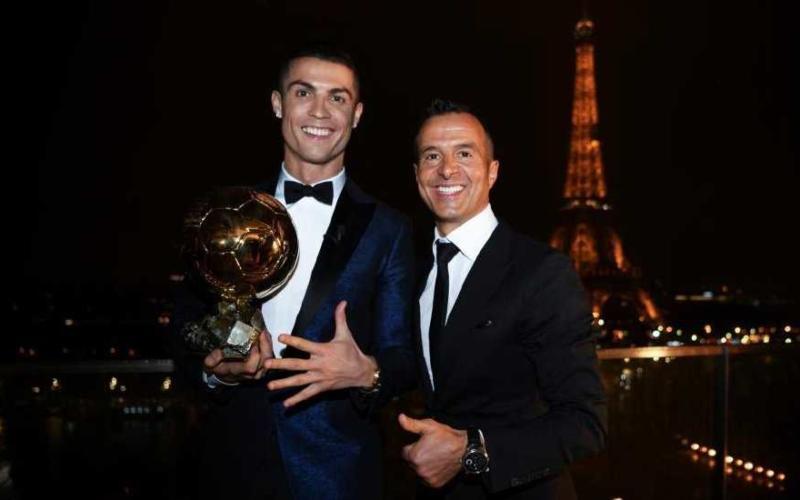 Cristiano Ronaldo e Jorge Mendes Foto Marca