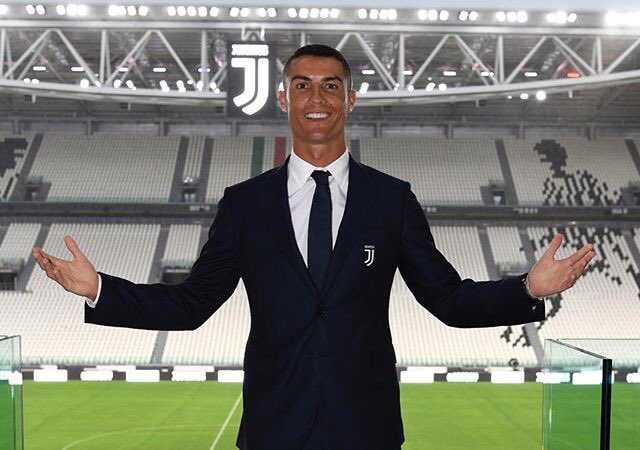 Cristiano Ronaldo presentazione Stadium Twitter personale