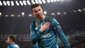 Cristiano Ronaldo ringraziamento Juventus Stadium Foto Marca