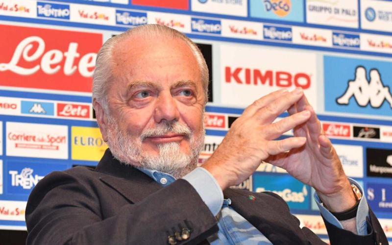 De Laurentiis conferenza Napoli Twitter