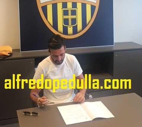 Di Carmine firma piccola Hellas Verona