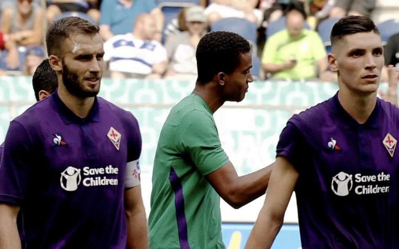 Fiorentina Lafont amichevole Twitter