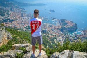 Golovin a Monte Carlo Foto Monaco Twitter