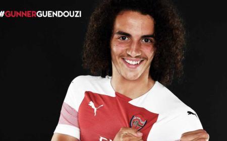 Guendouzi Twitter uff Arsenal
