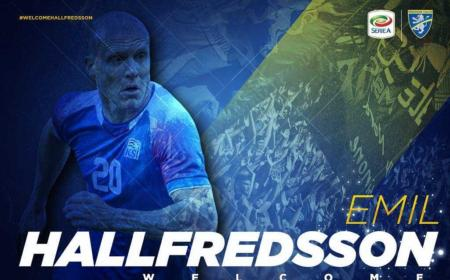 Hallfredsson annuncio Frosinone Twitter