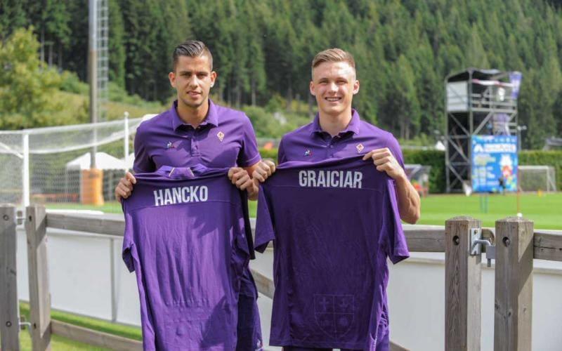 Maglia Home Fiorentina DAVID HANCKO