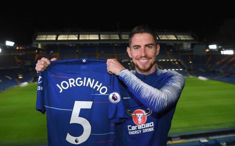 Jorginho presentazione Chelsea sito ufficiale