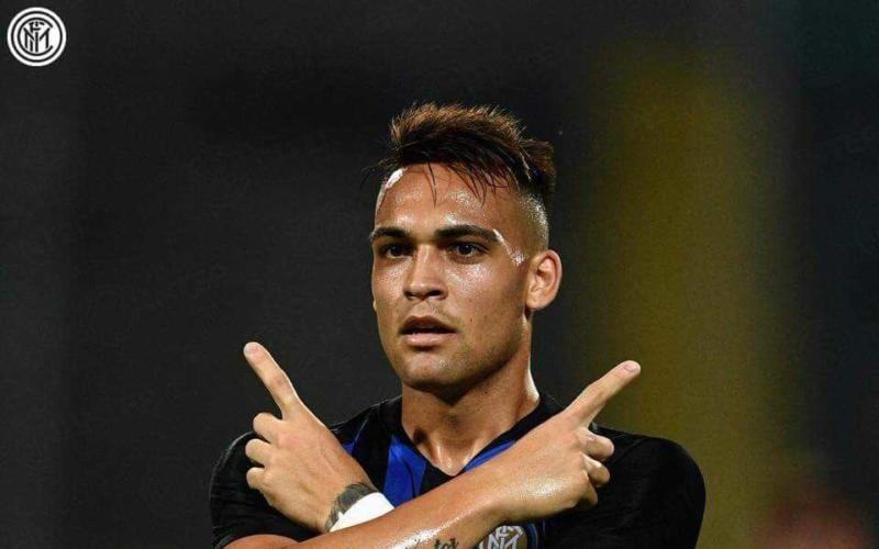 Lautaro Martinez Facebook ufficiale Inter