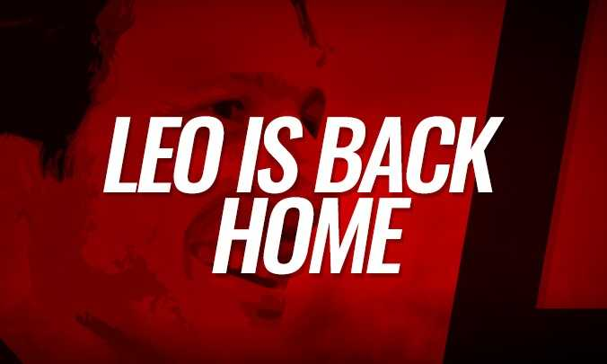 Leonardo annuncio ritorno Milan sito ufficiale