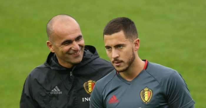 Martinez e Hazard Belgio Foto Football365