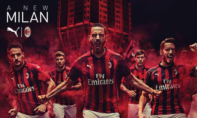 Milan nuova maglia Puma 18-19 sito ufficiale