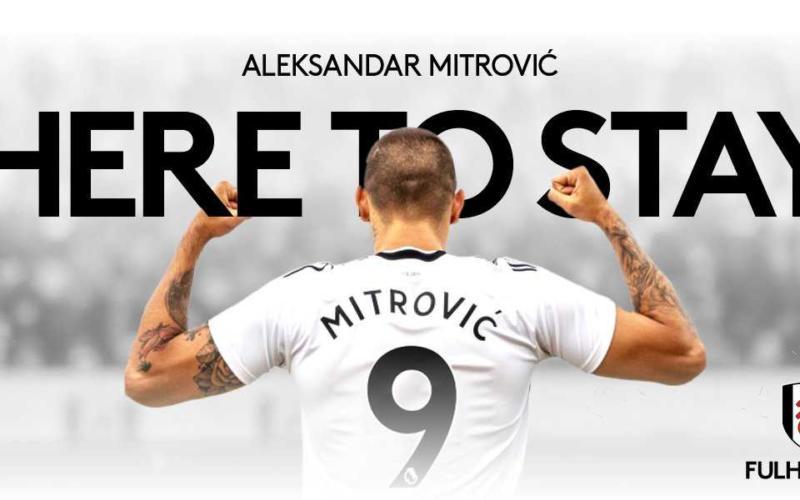 Mitrovic annuncio Fulham Twitter