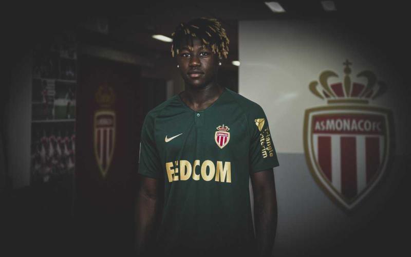 N'Doram Twitter uff Monaco