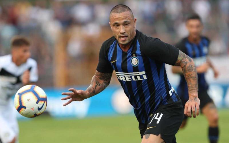Nainggolan vs Lugano Inter Twitter