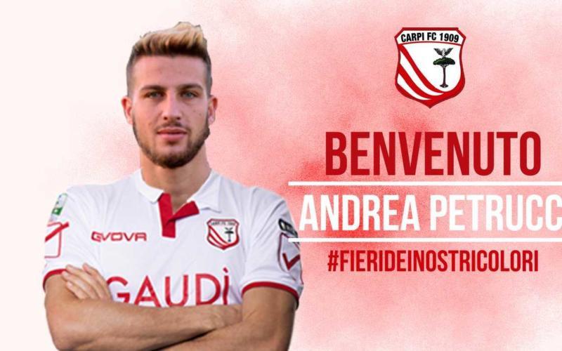 Petrucci annuncio Carpi Twitter