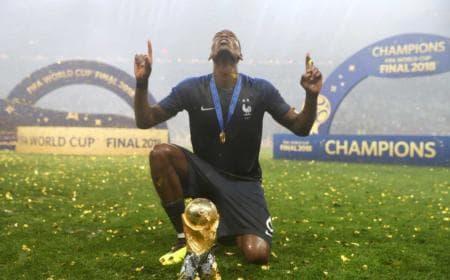 Pogba Twitter ufficiale Equipe de France