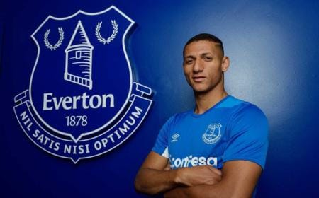 Richarlison Twitter uff Everton