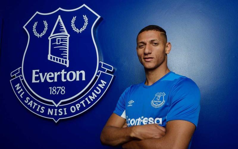 Richarlison Twitter uff Everton