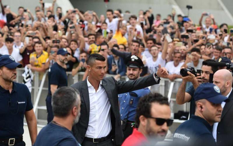 Ronaldo Twitter ufficiale Uefa