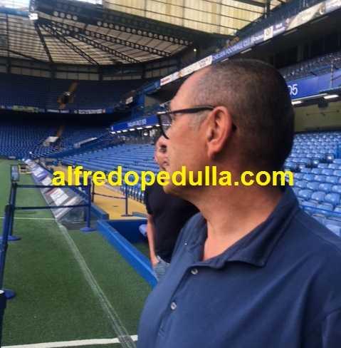 Sarri + Stamford Bridge foto nostra