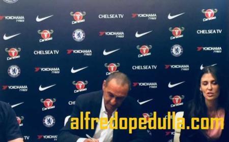 Sarri firma Chelsea