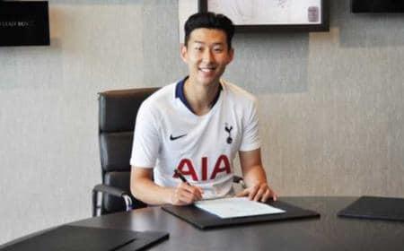 Son firma rinnovo Tottenham Twitter
