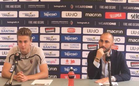Svanberg presentazione Bologna Twitter