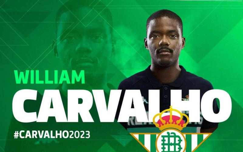 William Carvalho annuncio Betis