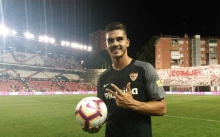 André Silva esordio Siviglia Twitter