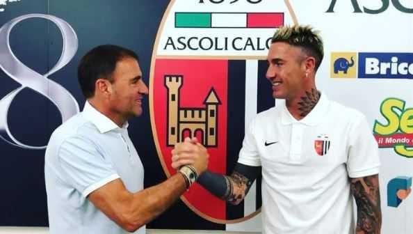 Ardemagni Instagram uff Ascoli