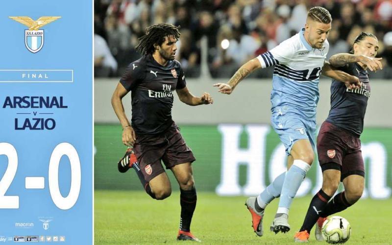 Arsenal Lazio 2-0