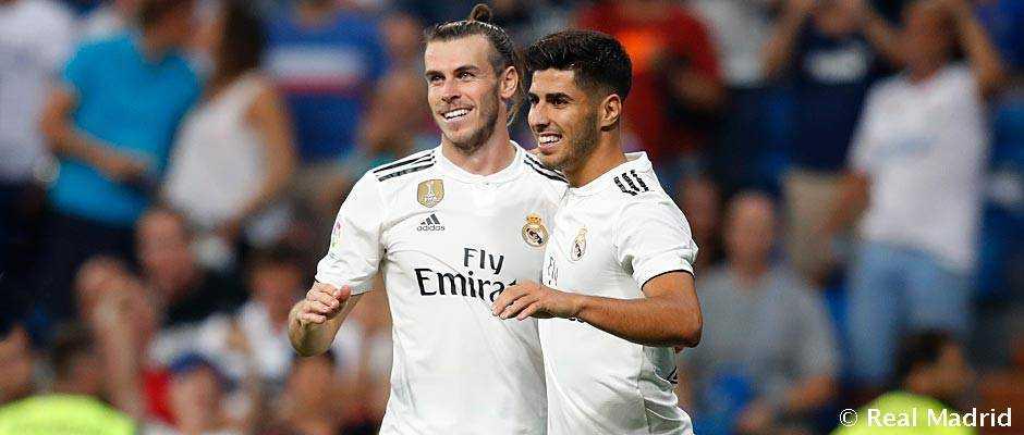Bale e Asensio Real Madrid Twitter