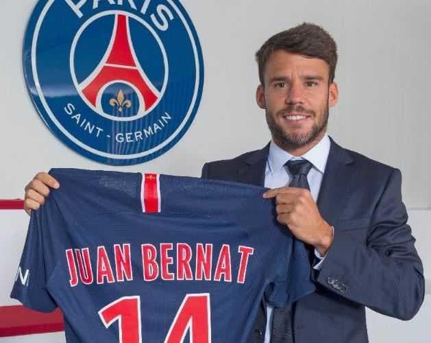 Bernat Twitter ufficiale PSG