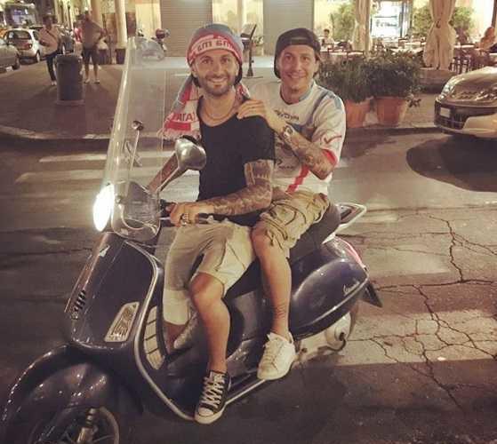 Biagianti festeggia B Catania Instagram personale