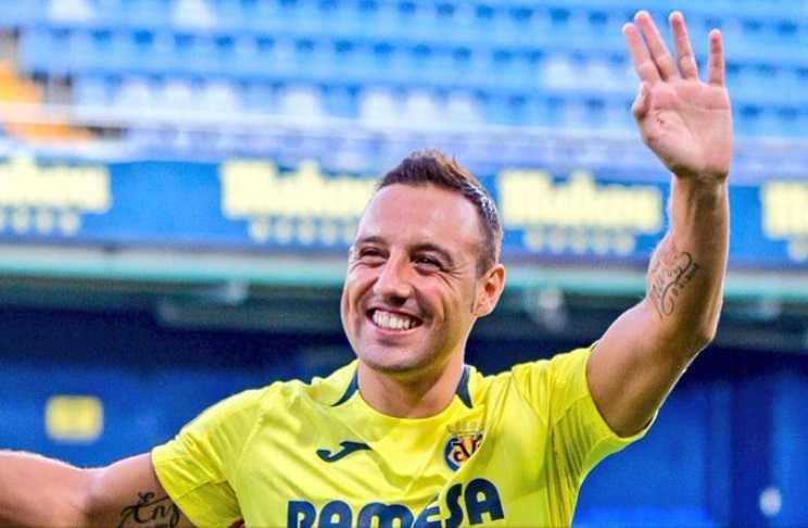 Cazorla annuncio Villarreal Twitter