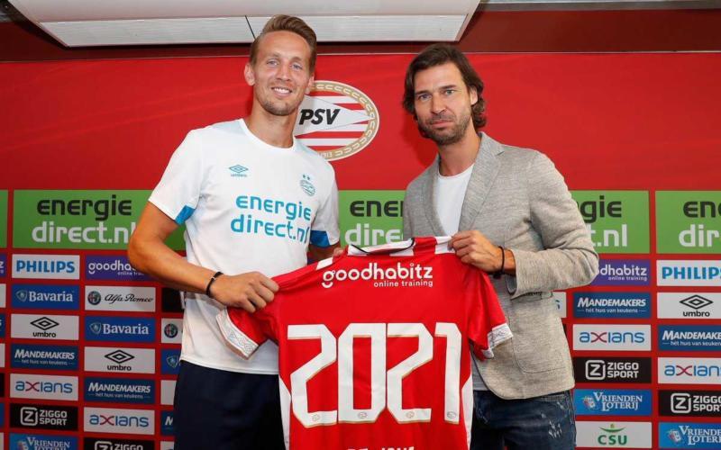 De Jong PSV Twitter