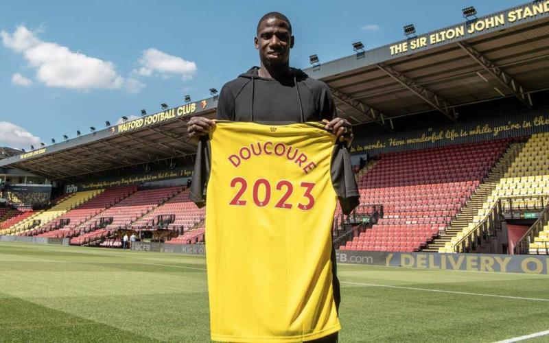 Doucouré rinnovo 2023 Watford Twitter