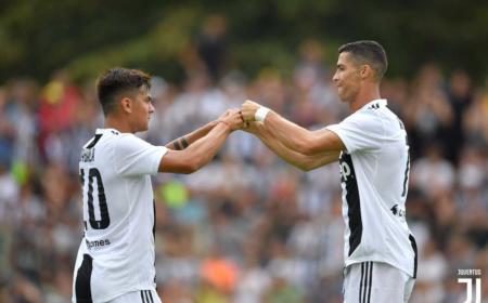 Dybala e Cristiano Ronaldo Juventus Twitter