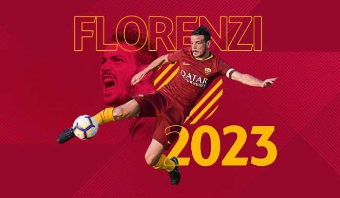Florenzi rinnovo 2023 Roma Twitter