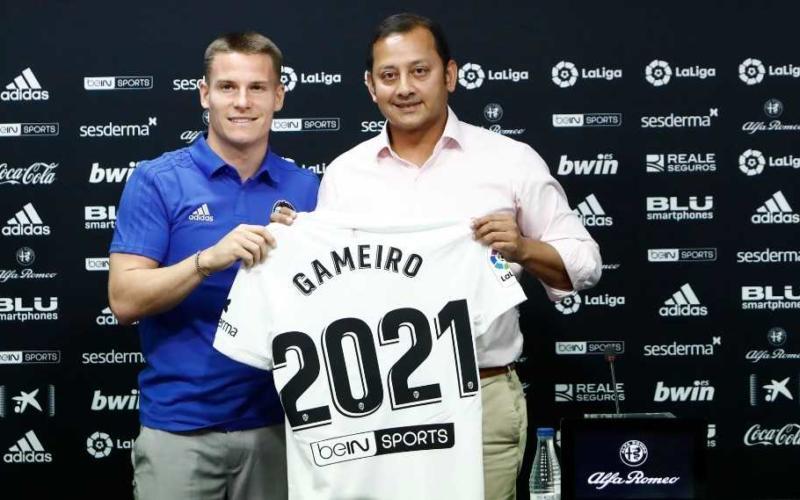 Gameiro presentazione Valencia
