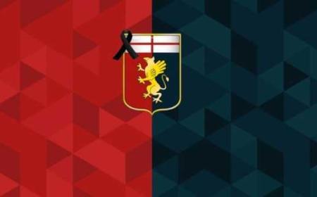 Genoa logo lutto