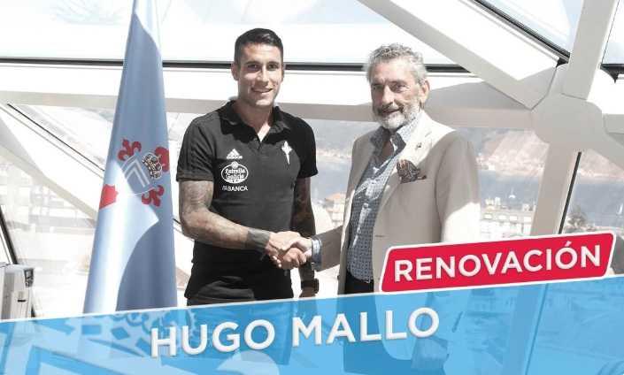 Hugo Mallo rinnovo Celta Vigo Twitter