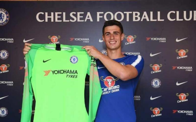 Kepa annuncio Chelsea Twitter