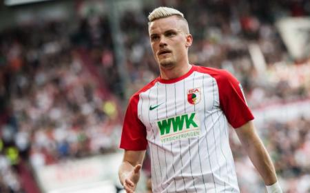Max Philipp Augsburg Foto Bundesliga sito ufficiale