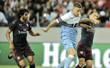 Milinkovic-Savic vs Arsenal Lazio Twitter